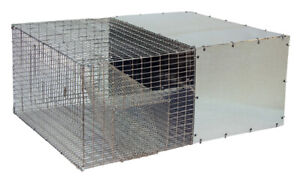 New Gqf Heavy Duty Galvanized Large Wire Breeder Hunting Quail Recovery Pen Trap