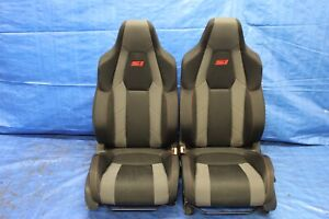 2018 Honda Civic Si Coupe 1 5l Turbo Oem Cloth Lh Rh Front Seats 9306