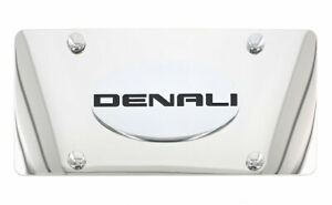 Gmc Denali Wordmark Chrome Decorative Vanity License Plate Cover