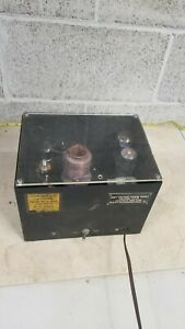 Vintage Tube Parker Engineering High Voltage Power Supply 10 000 Volts Ac Only