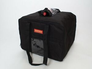 Stain Water Resistant Insulated Food Delivery Bag Catering Bag black