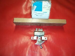 Nos Corvette 1968 1976 Heater Blower Switch No Air Conditioning 1970 1972 1973