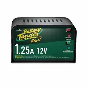 Deltran Battery Tender Plus Charger 12volt Maintainer 1 25a Amps Model 021 0128