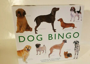 Dog Bingo by Polly Horner Magma for Laurence King illustrated Polly Horner $12.00