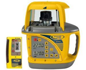 Spectra Precision Gl720 Dual Slope Grade Laser Level With Cr600 Machine Control