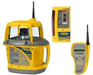 Spectra Precision Gl722 Dual Grade Laser Level Cr600 Receiver 2 way Remote