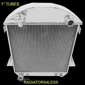Champion 2 Row Aluminum Radiator 1917 1927 Ford Model T Bucket Ford Engine