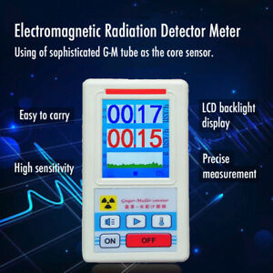 Geiger Counter Nuclear Radiation Detector Dosimeter Beta Gamma X ray Tester Usa