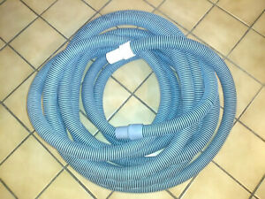 2 Od X 50 Carpet Cleaning Vac Hose Welded Cuffs Blue Used Great Condition
