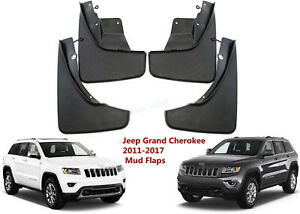 Front Rear Mud Flaps Mudguards Splash Guards For Jeep Grand Cherokee 2011 16