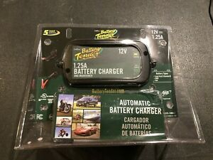 Battery Tender 12 Volt 1 25 Amp Plus Battery Charger maintainer 022 0185g dl wh