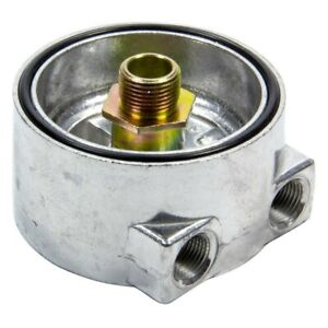 For Chevy Bel Air 1968 1975 Perma Cool 185 Sandwich Oil Adapter