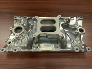 Edelbrock Eps powder Coated Intake Manifold For Chevy Vortec Bolts Gaskets