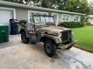 1962 M38a1 Army Willys Jeep