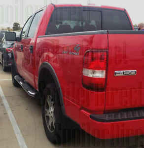 Factory Style Fender Flares For 2004 2005 2006 2007 2008 Ford F150 Oe Textured