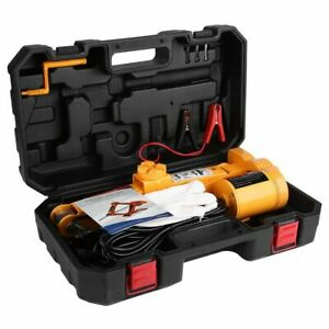2ton 12v Automotive Garage Electric Lifting Jack Tool Kit Use For Tire Change