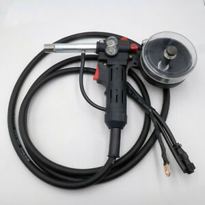 Intbuying Aluminum Spool Gun Fit Miller 210 Spoolmate 3035 5m Cable dc24v