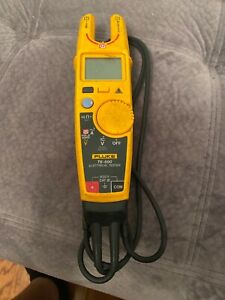 Fluke T6 600 600v Clamp Continuity Current Electrical Tester