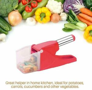 Plastic Potato Chipser French Fries Maker Vegetable Fruit Chopper Chips Cutter