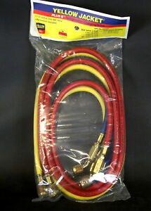 Yellow Jacket 29986 3 Pack 72 Refrigeration Hoses