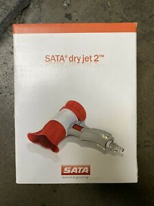 Sata 217489 Dry Jet 2 Lightweight Paint Dying Blow Gun Brand New