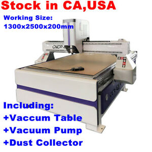 51 X 98 1325 Ad Woodworking Cnc Routing Machine With 3kw Spindle Us