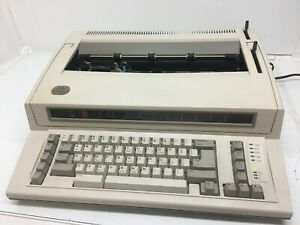 Ibm Personal Wheelwriter By Lexmark Tested Working Vintage Typewrite