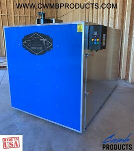 New 5x5x8 Smart Powder Coat Coating Oven