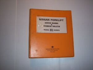 Nissan Forklift Service Manual Model B01 B02 Forklift Manual