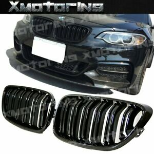 For Bmw F22 F23 2014 2018 2 series Use M Type Two Trim Front Guard Grille 1 Set
