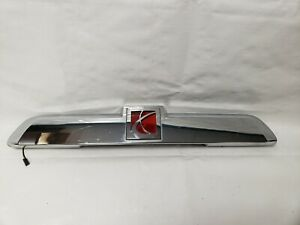 2006 2007 Saturn Vue Trunk Lid License Plate Light Oem 21996225
