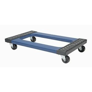 New 1000 lb capacity 18 X 30 Resin Box Freight Moving Push Dolly Hand cart Truck