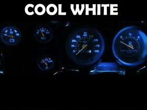 Gauge Cluster Led Dashboard Bulbs Cool White For Chevy 73 87 C10 C20 C30 Truck