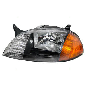 Headlight Fits 1998 2001 Chevrolet Metro Suzuki Swift Driver Headlamp Assembly