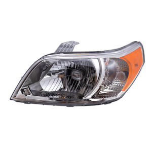 Halogen Headlight Fits 2009 Chevrolet Aveo5 Driver Side Combination Headlamp