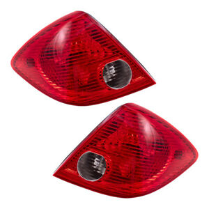 Tail Lights Set Fits 2005 2010 Pontiac G6 Sedan Pair Taillamps Lens W Housing