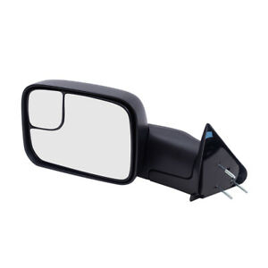 Tow Mirror For 94 02 Dodge Ram Pickup Drivers Manual New Arm Design 55156335ad