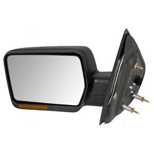 Power Door Mirror Fits 2007 2008 Ford F150 Pickup Driver Side Heated Signal