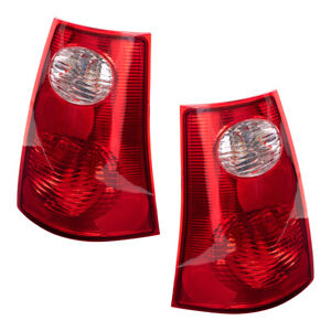 Pair Tail Lights Fit 2001 2005 Ford Explorer Sport Trac Pickup Taillamps Set