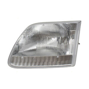 Headlight Assembly Fits Ford Expedition F 150 F 250 Pickup Driver Side Headlamp
