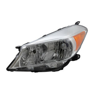 Headlight For 2012 2014 Toyota Yaris Hatchback Drivers Combination 8117052d30