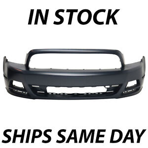 New Primered Front Bumper Cover Replacement For 2013 2014 Ford Mustang 13 14