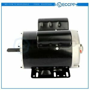 3 Hp Spl Air Compressor Duty Electric Motor 56 Frame 3450 Rpm Single Phase 60 Hz