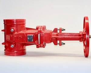 Tyco Fire Protection 6 Groove End Resilient Seated Gate Valve Gxg