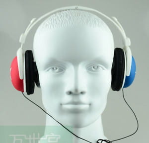 Reality Fiberglass Mannequin Male Head For Hat Display sunglass Fast Shipping