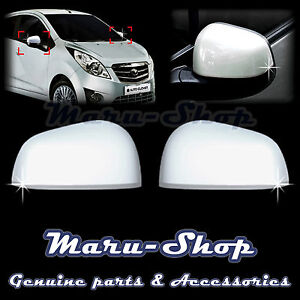 Chrome Side Rear View Mirror Cover Trim For 09 15 Chevrolet Spark Spark Gt Beat