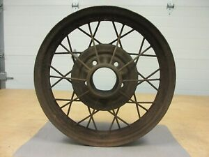 Model A Ford Wire Wheel 1930 1931 Size 19 X 3 5 On 5 1 2 Original Ford