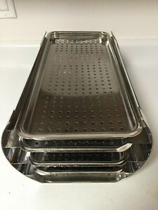 Complete Tuttnauer Rack And Trays Four Trays And Rack Autoclave