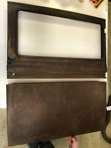 1929 Chevrolet 2 Door Sedan Passenger Door Cut In 1 2 Top Bottom Panels