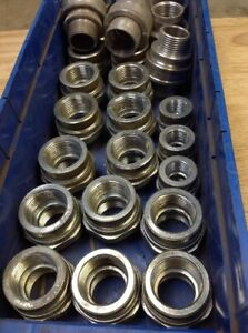 Electrical Couplings Assortment Lot Of 26